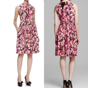 Kate Spade Pink Sleeveless Floral Dress